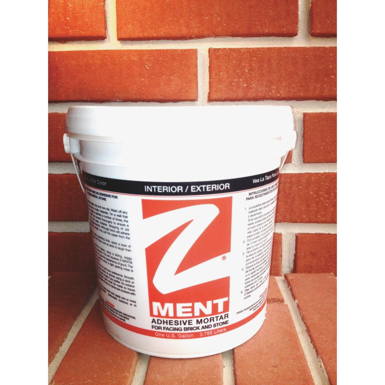 Z-MENT Black 1 Gal. Brick & Stone Adhesive Mortar Image 2