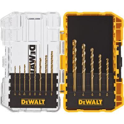 DeWalt 13-Piece Titanium Drill Bit Set