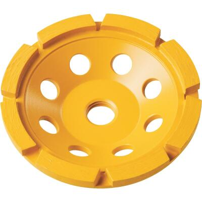 DeWalt 4 In. Single Row Diamond Cup Wheel