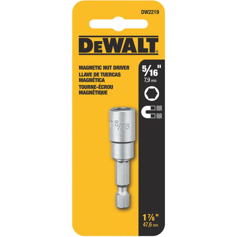 DeWalt Magnetic Hex Socket 5/16 In. x 1-7/16 In. Nutdriver Bit Image 2