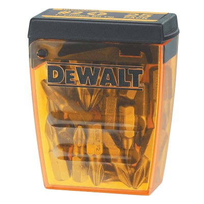 DeWalt #2 Phillips 1 In. Insert Screwdriver Bit (25-Pack)
