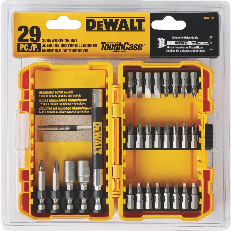 DeWalt 29-Piece Screwdriver Bit Set Image 2