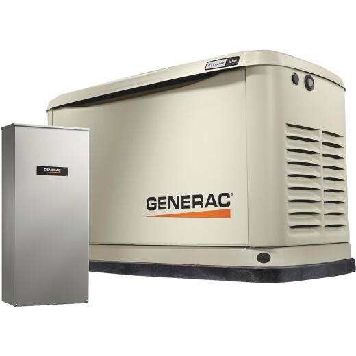Generac Guardian 16,000W Natural Gas/LP Home Standby Generator with 200A Automatic Transfer Switch
