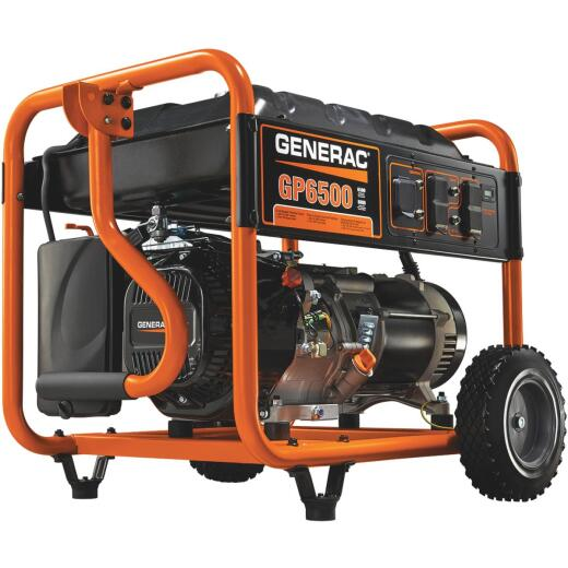 Generac 6500W Gasoline Powered Portable Generator