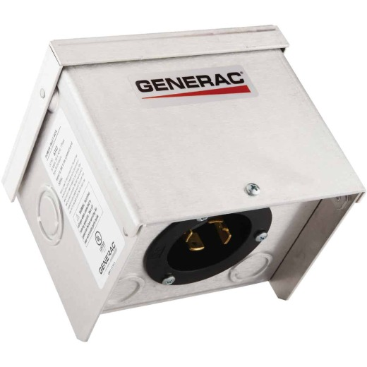 Generac 30A Outdoor Generator Power Inlet Box