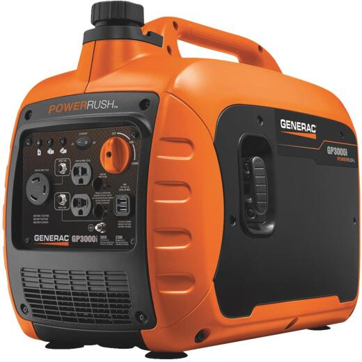 Generac GP3000i 2300W Gasoline Powered Portable Inverter Generator