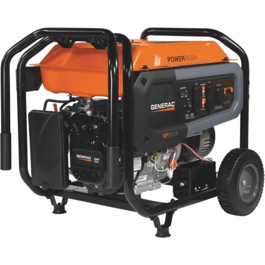 Generac 8000W Gasoline Powered Portable Generator (CARB Compliant)