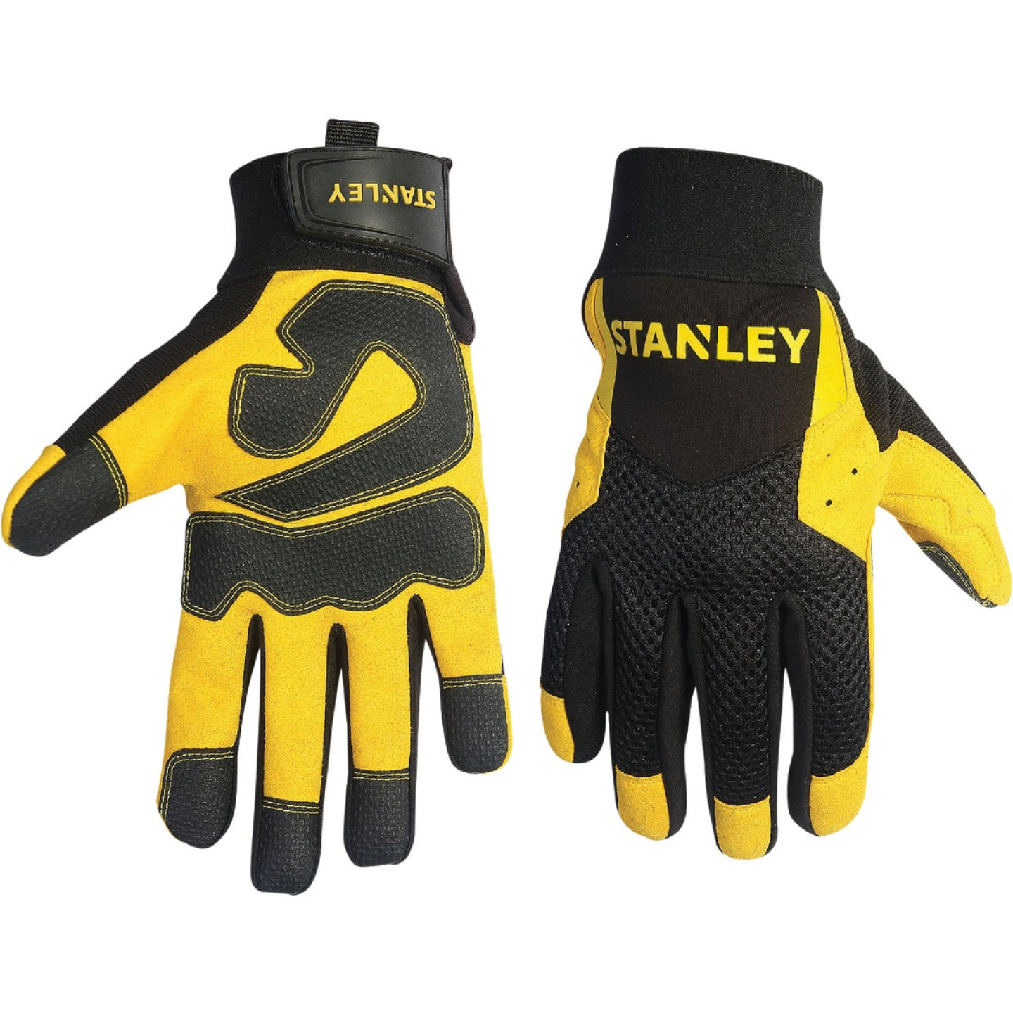 Stanley Men's Medium Synthetic Leather High Performance Glove Image 1